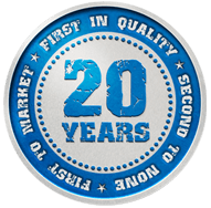 Jotto Desk 20 Year Logo
