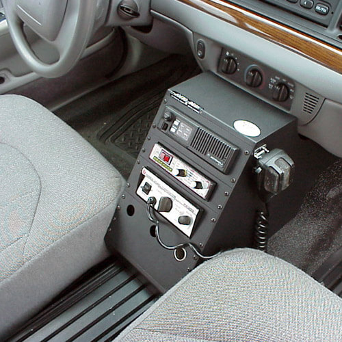 Ford Crown Victoria  Police Equipment Console Package Contour