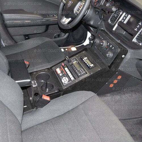 Dodge Charger Police Equipment Console Cc Cd 2011