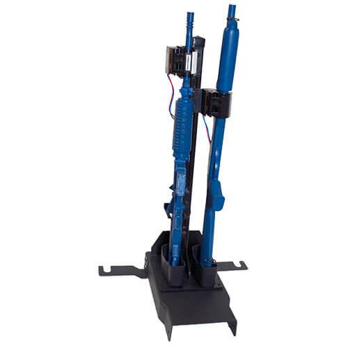Gun Rack Dual Weapon Rear Seat Mount Vertical Gr6 870
