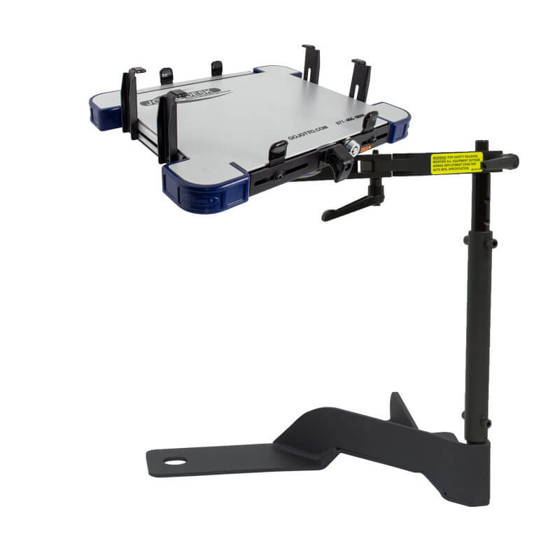 A-MOD (Tall Clamps) Laptop Mount Ford PI Utility (2020+) Ford Police Interceptor Utility A-MOD Laptop Mount (Tall Clamps) (2020+) PI Utility - 425-5010/4143 - GoJotto