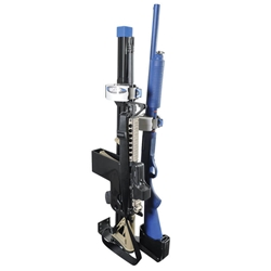 AR Secure Gun Rack - Dual Weapon, Partition Mounted, Vertical (GR9-ZRT-AR Secure-BLM/870) ZRT AR Secure Gun Rack - Dual Weapon, Partition Mounted, Vertical (GR9-ZRT-AR BLM/870) 475-2052