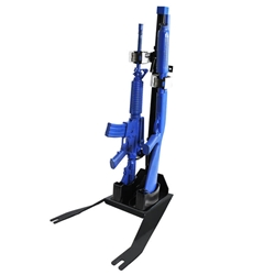 Gun Rack - Dual Weapon, Rear Seat Mounted, Vertical (GR6-ZRT-SILVERADO-SSV-19+-AR BLM/870) ZRT Gun Rack - Dual Weapon, Rear Seat Mounted, Vertical (GR6-ZRT-SILVERADO-SSV-19+-AR BLM/870) 475-2055 - GoJotto