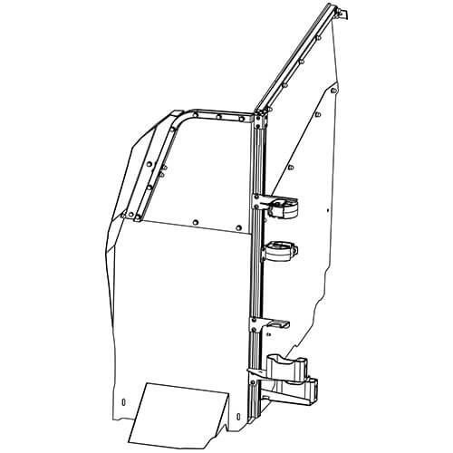 Gun Rack - Dual Weapon, Single Cell Mounted, Vertical (GR7-ZRT-TAHOE-AR BLM/870) ZRT Gun Rack - Dual Weapon, Single Cell Mounted, Vertical (GR7-ZRT-TAHOE-AR BLM/870) 475-2049