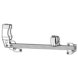 Gun Rack - Single Weapon, Rear Hatch Mounted (GR4-ZRT-870-PI-Utility-13-19) Gun Rack - Single Weapon, Rear Hatch Mounted (GR4-ZRT-870-PI-Utility-13-19) 475-2032