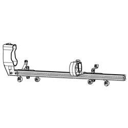Gun Rack - Single Weapon, Rear Hatch Mounted (GR4-ZRT-870-TAHOE) Gun Rack - Single Weapon, Rear Hatch Mounted (GR4-ZRT-870-TAHOE) 475-2034