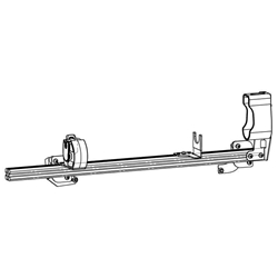 Gun Rack - Single Weapon, Rear Hatch Mounted (GR4-ZRT-AR-BLM-PI-UTILITY-13-19) Gun Rack - Single Weapon, Rear Hatch Mounted (GR4-ZRT-AR-BLM-PI-UTILITY-13-19)