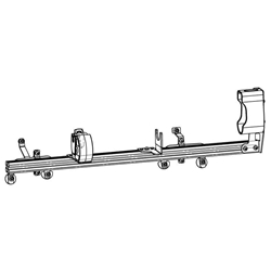 Gun Rack - Single Weapon, Rear Hatch Mounted (GR4-ZRT-AR-BLM-TAHOE) Gun Rack - Single Weapon, Rear Hatch Mounted (GR4-ZRT-AR-BLM-TAHOE) 475-2033