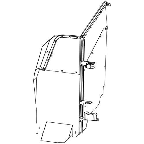 Gun Rack - Single Weapon, Single Cell Mounted, Vertical (GR7-ZRT-TAHOE-AR BLM) ZRT Gun Rack - Single Weapon, Single Cell Mounted, Vertical (GR7-ZRT-TAHOE-AR BLM) 475-2050
