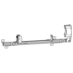 Gun Rack - Single Weapon, Trunk Mounted (GR4-ZRT-AR-BLM-UTM) Gun Rack - Single Weapon, Trunk Mounted (GR4-ZRT-AR_BLM-UTM) 475-2028