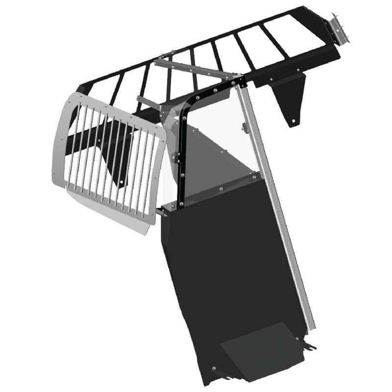 Single Cell Lite Prisoner Transport System for Chevy Silverado SSV  (2016-2018)