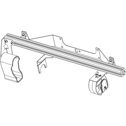 Gun Rack - Single Weapon, Rear Hatch Mounted (GR4-ZRT-AR-BLM-PI-UTILITY-2020+) Gun Rack - Single Weapon, Rear Hatch Mounted (GR4-ZRT-AR-BLM-PI-UTILITY-20+)