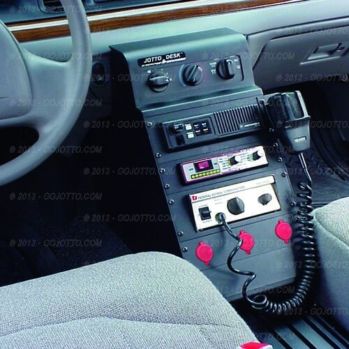 Crown Victoria Police Equipment Console Package