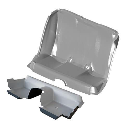 Prisoner Bio Hazard Transport Seat and Floor Pan Set ...