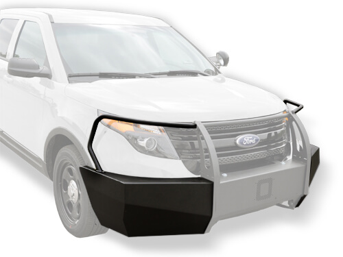 Jotto Force Ford Police Interceptor Utility (2013+) Push Bumper Wrap Only  Kit
