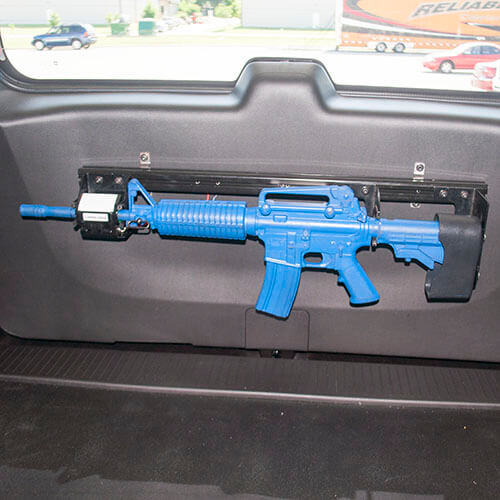 Gun Rack Single Weapon Ar 15 Blm Rear Hatch Mounted